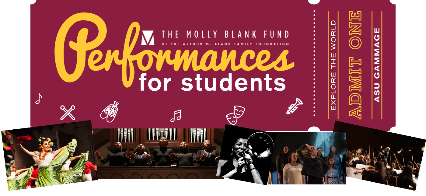 The Molly Blank Fund Performances for Students