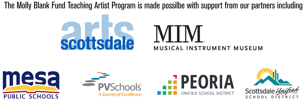Molly Blank Fund Teaching Artist Program partners