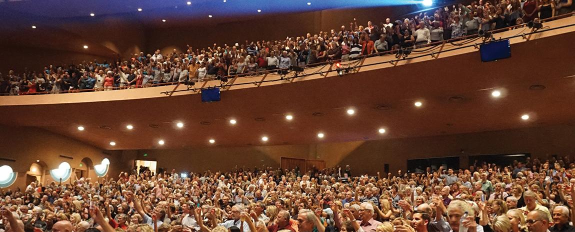 ASU Gammage audience