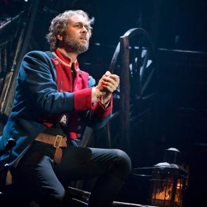 """Bring Him Home"" - Nick Cartell as 'Jean Valjean' in the new national tour of LES MISÉRABLES	Photo by Matthew Murphy"