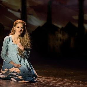 """I Dreamed A Dream"" - Melissa Mitchell as 'Fantine' in the new national tour of LES MISÉRABLES.	Photo by Matthew Murphy"