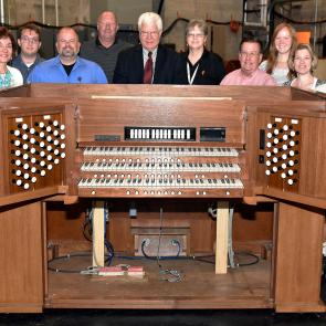 Updated Organ Console