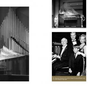 Pages about the Organ in ASU Gammage 50th Anniversary Book