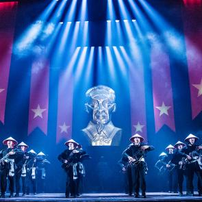 MISS SAIGON National Tour. Photo by Matthew Murphy
