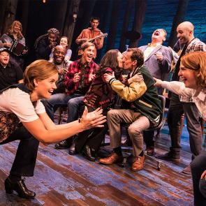 The First North American Tour Company of COME FROM AWAY, Photo by Matthew Murphy