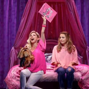 Pictured (L-R): Kerry Butler (Mrs. George) and Erika Henningsen (Cady Heron)  Credit: © 2017 Joan Marcus