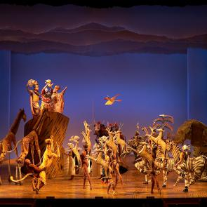 The Circle of Life from THE LION KING ©Disney Photo Credit Brinkhoff-Mogenburg