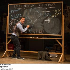 _John Leguizamo in LATIN HISTORY FOR MORONS, Photo by Matthew Murphy