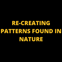 RE-CREATING PATTERNS FOUND IN NATURE